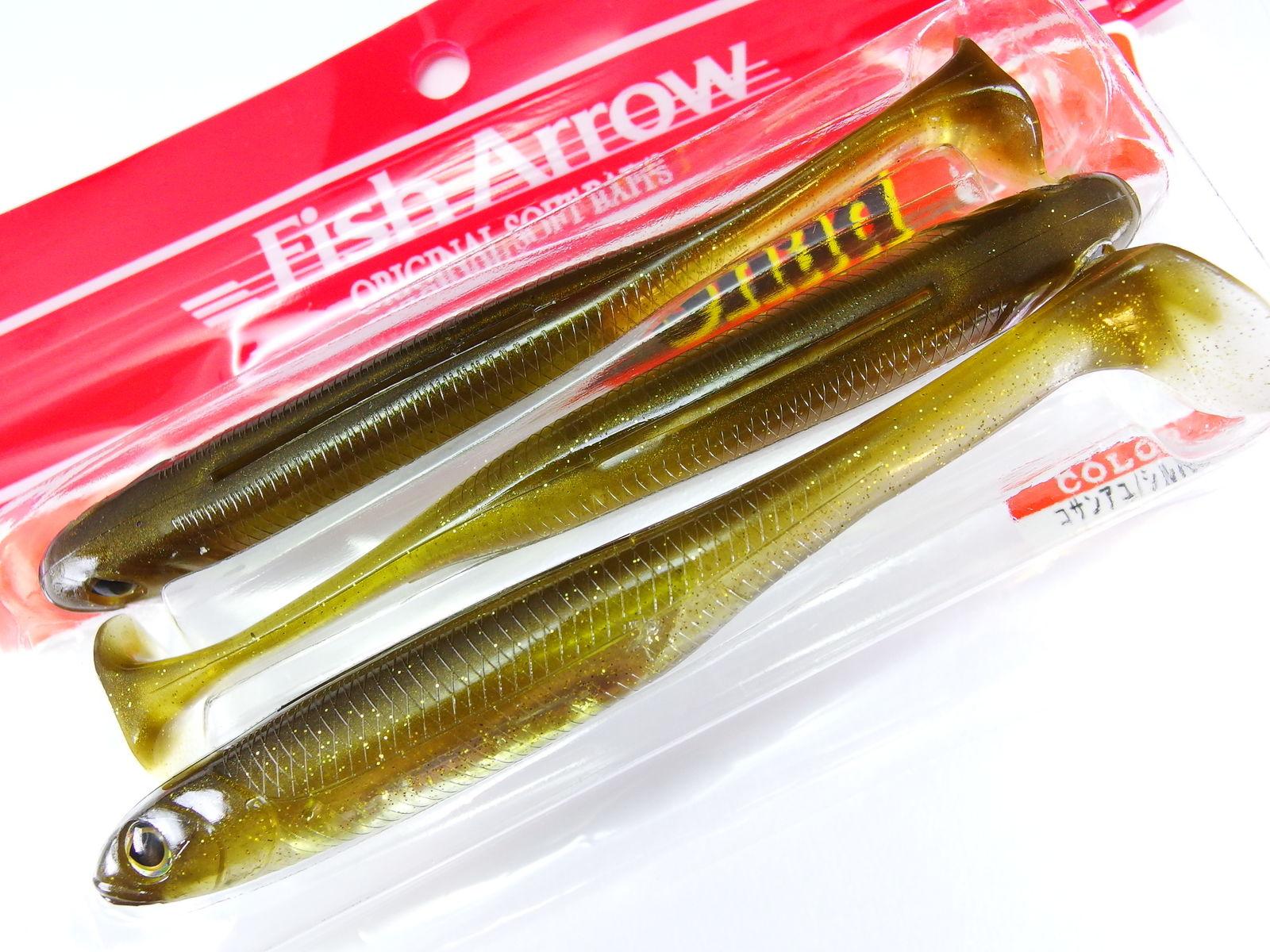 Fish Arrow Flash J Shad Gummifisch #06 Kosan Ayu Silver